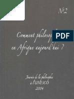 DOUAILLER Orphee Et Le Nom de Philosophie