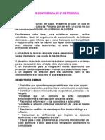 AULA DE CONVIVENCIA DE 2º DE PRIMARIA
