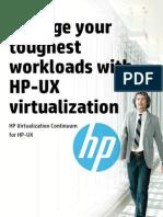 HP UX Virtualization Brochure