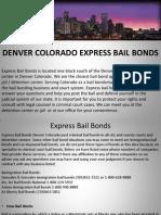 Express Bail Bonds Denver Colorado