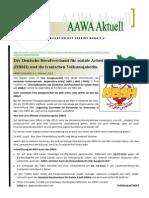 Aawa Aktuell Nr. 77 - Februar 2014