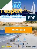 Congreso Turismo y Deporte. Memoria