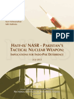 HATF-IX / NASR Pakistan's Tactical Nuclear Weapons