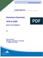 Coventry Economy 1976-2026