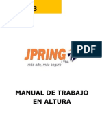 Manual de Trabajo en Alturas