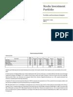 Stocks Investment Portfolio