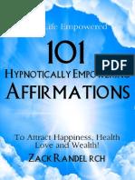 101 Hypnotically Empowering Affirmations eBook