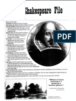 the shakespeare file and yikes