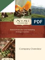 Numi Brand Overview