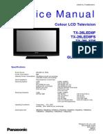 Panasonic TX-26led8f Fs TX-26lxd8 Ch Glp23