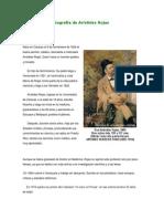 Biografía de Arístides Rojas batalla de pichincha