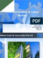 Industrial Relation & Labour Welfare