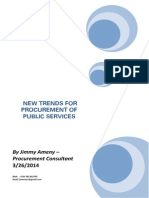 New Models for Procurement of Public Services (Repaired)