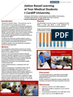 Simulation Based Learning for Final Year Medical Students at Cardiff University
