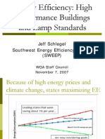 Energy Efficiency-High Performance Buildings
