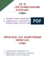 2.b Legislație și organizare sanitară L. P . 2