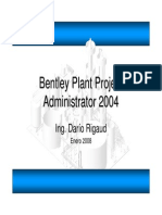 Bentley Plant Project Administrator