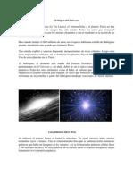 El Origen Del Universo-Resumen Historia Medicina