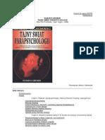 Elmar R. Gruber -Tajny świat parapsychologii