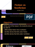 fiction vs nonfiction by l  aquino  a  de vera