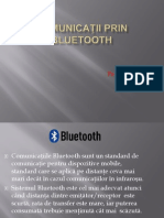 Comunicatii Prin Bluetooth