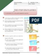 Ficha 04 - Organização e tratamento de dados