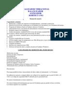 Analizador Vibracional Kohtect c911.Resp