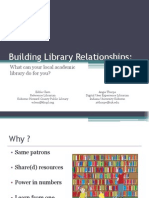 Building Library Relationships