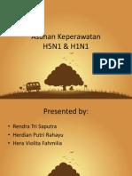 Asuhan Keperawatan H1N1 H5N1