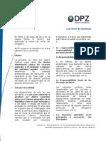 Resumen Legislativo N° 27. Ley Penal del Ambiente