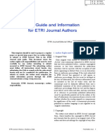 ETRI Journal Author Guide