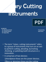 Rotary Cutting Instruments1