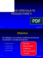 10 Situatii Speciale in Resuscitare II