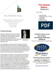 paswha newsletter - first quarter 2014 edition