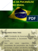 Historia Da Psicanalise No Brasil