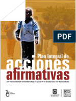 Acciones afirmativas afrocolombianos