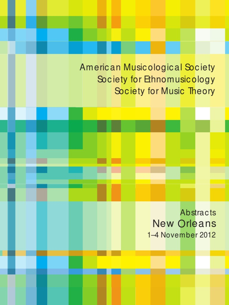 AMS Abstracts 2012