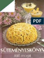 Peter Janosne Sutemenyeskonyv 800 Recept