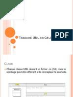 Traduire UML en C#