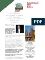 paswha newsletter - second quarter 2013