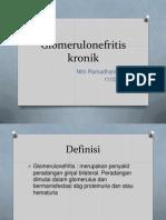 glomerulonefritis kronik