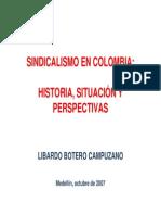 Sindicalismo en Colombia