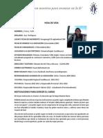 hoja de vida Francy Yulie Aya Rodríguez