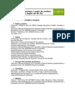Centros de Acopio Region Del Biobio-2012
