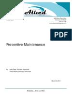 ARG PreventiveMaintenance WhitePaper Rev1