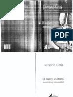 El Sujeto Cultural - Edmond Cros