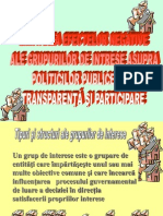 Curs 7 Grupuri de Interese
