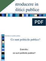 Cursul 1 Definitii Procesul Politicilor Comun Introducere in PP
