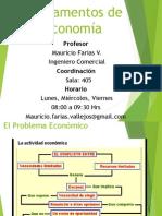 1.- PRIMERA CLASE Fundamentos de Econom A