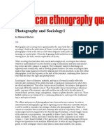 Photography and Sociology1
